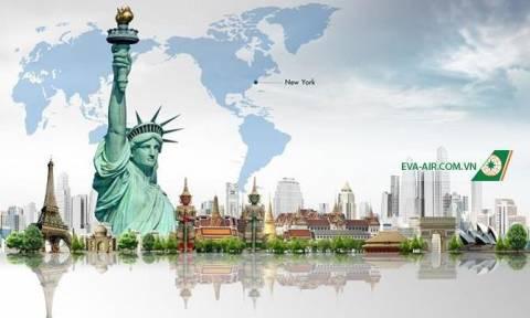 Eva Air Khuyến Mãi Đi Mỹ Giá Rẻ