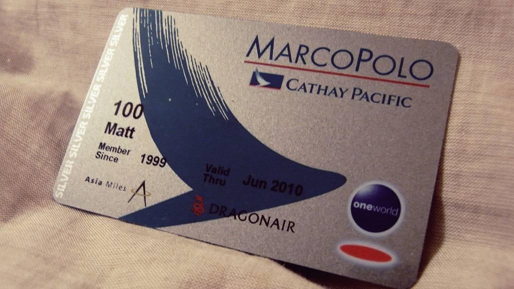 Ưu đãi dặm thưởng cho hội viên câu lạc bộ Marco Polo khi đặt vé máy bay đi Mỹ hãng Cathay Pacific