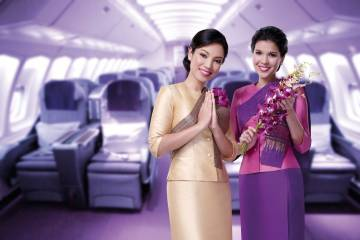 Vé Máy Bay Thai Airways Đi Mỹ