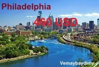 Vé máy bay đi Philadelphia giá rẻ
