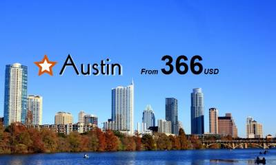Vé Máy Bay Đi Austin giá rẻ chỉ từ 366 USD