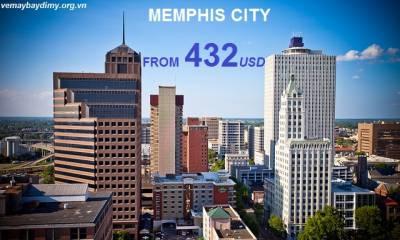 Vé máy bay đi Memphis giá rẻ chỉ từ 432 USD