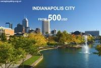 Vé Máy Bay Đi Indianapolis Mỹ