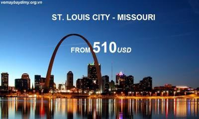 Vé Máy Bay Đi St. Louis Missouri