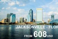 Vé Máy Bay Đi Jacksonville Florida Giá Rẻ