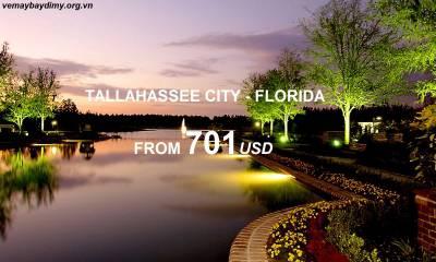 Vé Máy Bay Đi Tallahassee - Florida Giá Rẻ