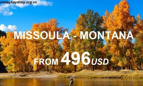 Du Lịch Missoula Montana Với Vé Máy Bay Giá Rẻ
