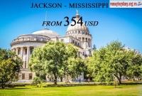 Vé Máy Bay Đi Jackson Mississippi Giá Rẻ