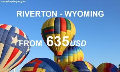 Vé Máy Bay Đi Riverton Wyoming Giá Rẻ