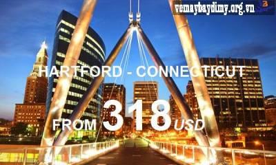 Vé Máy Bay Đi Hartford Connecticut Giá Rẻ