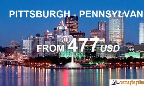 Cơ Hội Đến Pittsburgh Pennsylvania Với Vé Máy Bay Giá Rẻ