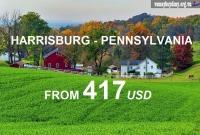 Vé Máy Bay Đi Harrisburg Pennsylvania Giá Rẻ