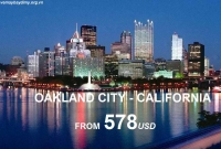 Vé Máy Bay Đi Oakland California Giá Rẻ