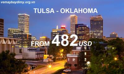 Vé Máy Bay Đi Tulsa Oklahoma Giá Rẻ
