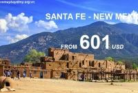 Vé Máy Bay Đi Santa Fe New Mexico Giá Rẻ