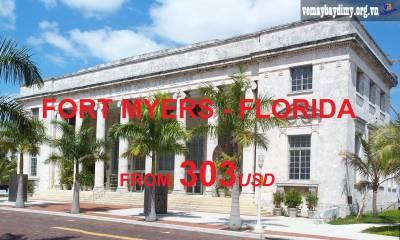 Vé Máy Bay Đi Fort Myers Florida Giá Rẻ