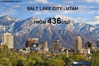 Vé Máy Bay Đi Salt Lake City Utah