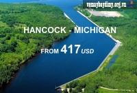 Vé Máy Bay Đi Hancock Michigan Giá Rẻ
