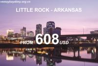 Vé Máy Bay Đi Little Rock Arkansas Giá Rẻ