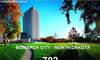 Vé Máy Bay Đi Bismarck Bắc Dakota Giá Rẻ