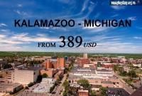 Vé Máy Bay Đi Kalamazoo Michigan Giá Rẻ