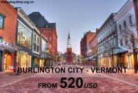 Vé Máy Bay Đi Burlington Vermont Giá Rẻ