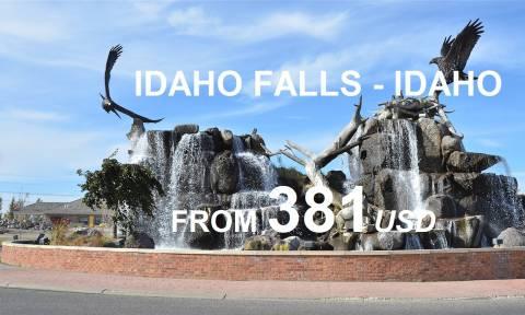 Du Lịch Idaho Falls Với Vé Máy Bay Giá Siêu Rẻ