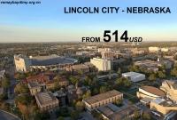 Vé Máy Bay Đi Lincoln Nebraska Giá Rẻ