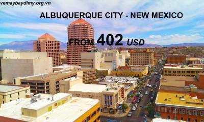 Vé Máy Bay Đi Albuquerque - New Mexico Giá Rẻ