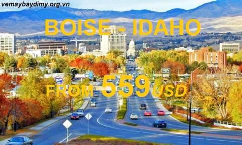 Du Lịch Boise Idaho Với Vé Máy Bay Giá Tốt Nhất
