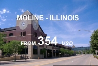 Vé Máy Bay Đi Moline Illinois Giá Rẻ