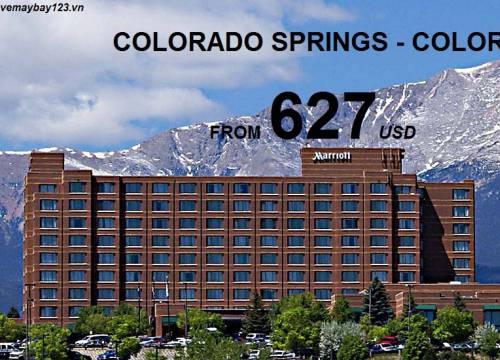 Đến Colorado Springs Với Vé Máy Bay Chỉ Từ 627 USD