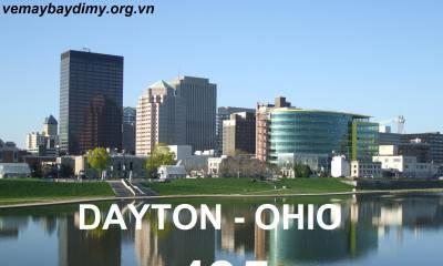 Vé Máy Bay Đi Dayton Ohio Giá Rẻ