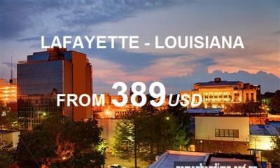 Vé Máy Bay Đi Lafayette Louisiana Giá Rẻ