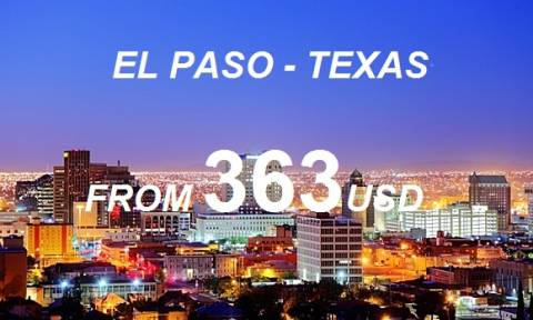 Đặt Mua Vé Máy Bay Đi El Paso Texas Giá Tốt Nhất