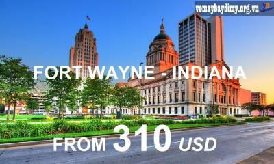 Vé Máy Bay Đi Fort Wayne Indiana Giá Rẻ