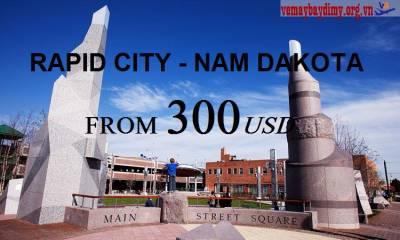 Vé Máy Bay Đi Rapid City Nam Dakota Giá Rẻ
