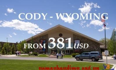 Vé Máy Bay Đi Cody Wyoming Giá Rẻ Nhất