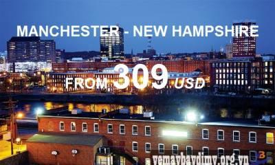Vé Máy Bay Đi Manchester New Hampshire Giá Rẻ