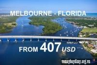 Vé Máy Bay Đi Melbourne Florida Giá Rẻ
