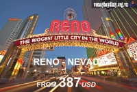 Vé Máy Bay Đi Reno Nevada Giá Rẻ