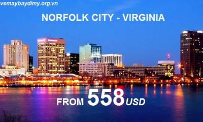 Vé Máy Bay Đi Norfolk Virginia Giá Rẻ