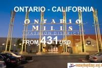Vé Máy Bay Giá Rẻ Du Lịch Ontario California