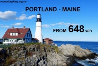 Vé Máy Bay Đi Portland Maine Giá Rẻ