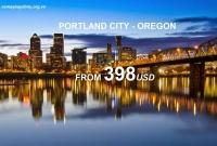 Vé Máy Bay Đi Portland Oregon