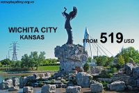 Vé Máy Bay Đi Wichita Kansas Giá Rẻ
