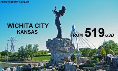 Vé Máy Bay Đi Wichita - Kansas Giá Rẻ